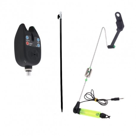 Senzor TLI 01 pentru pescuit si swinger cu tija, contragreutate L, locas pentru starlet si led puternic